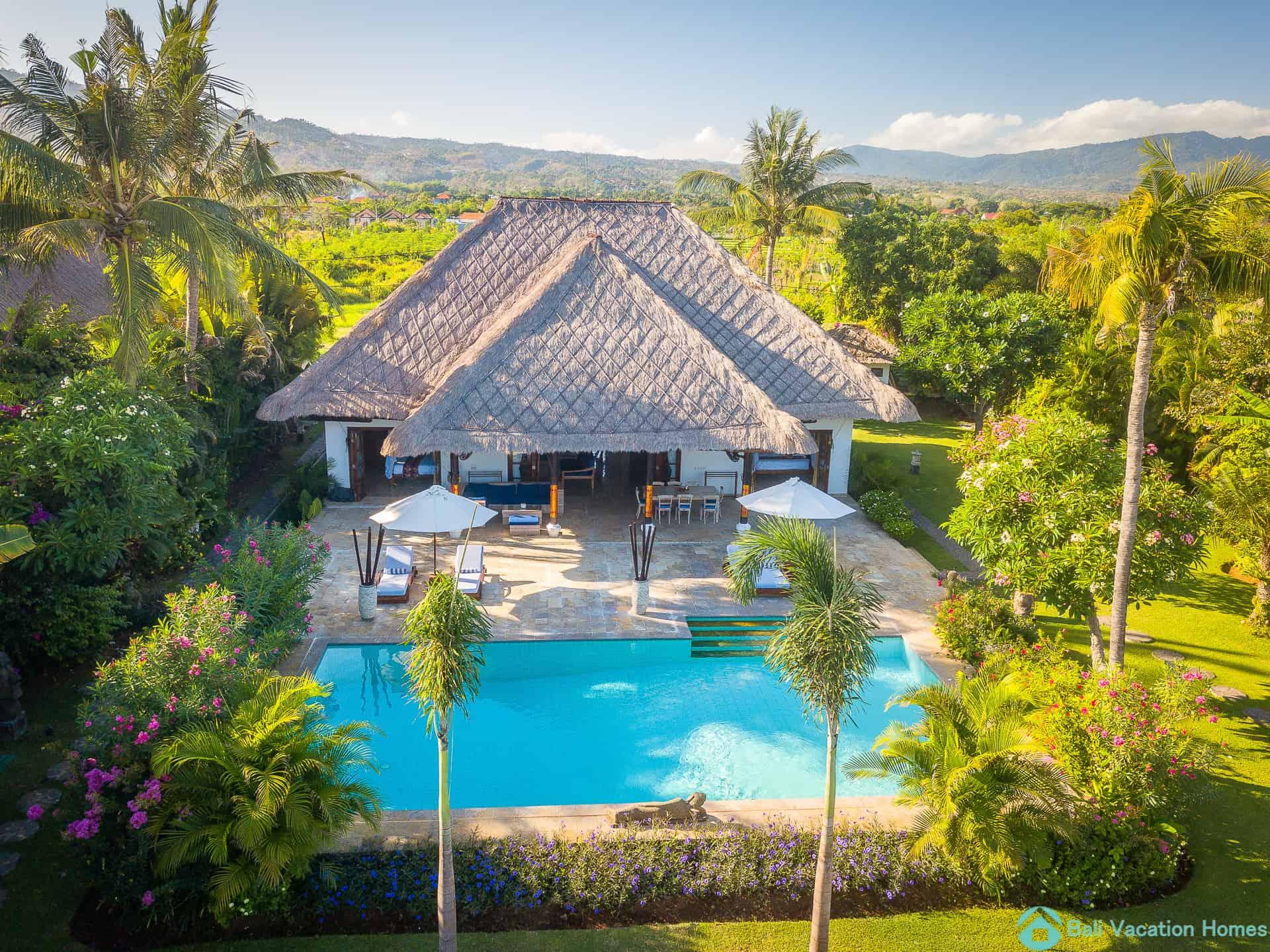 Villa Agus Mas Aerial view- Bali Vacation Homes