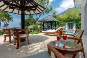 beachfront villa lovina beach