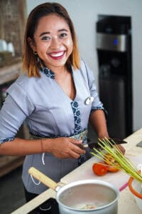 Villa Hidden Jewel hostess-smile-cooking